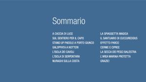 Villasimius eBook di Luca Tamagnini – Sommario.