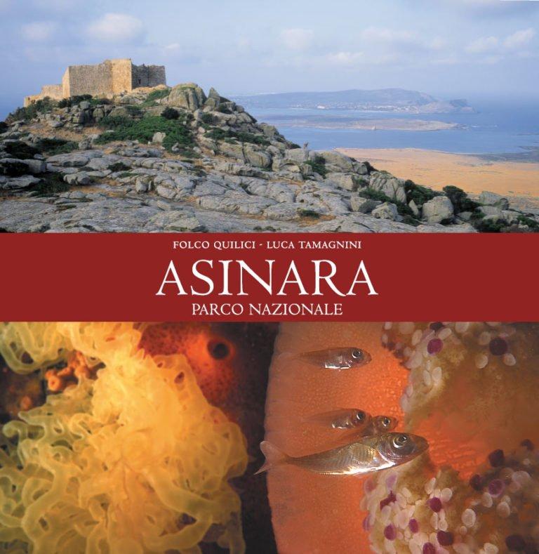 Copertina del libro fotografico Asinara Area Marina Protetta.