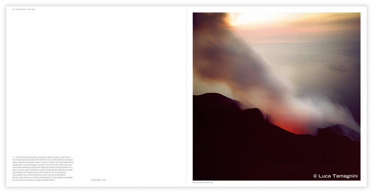 Isola di Stromboli, cratere, 1987 - Fotografia di Luca Tamagnini