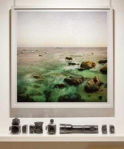 Fotografia Fine Art di Luca Tamagnini - Titolo opera: Punta Santo Stefano 2011 - Formato 100 X 100 cm