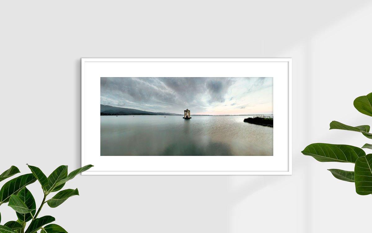 Laguna di Orbetello - Fotografia Fine Art di Luca Tamagnini 110 x 50 cm - Catalogo 2016-001