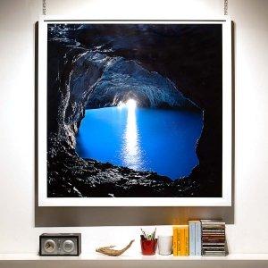 Grotta Azzurra di Capri - Fotografia Fine Art di Luca Tamagnini - Formato 100 x 100 cm - Catalogo 2017-012