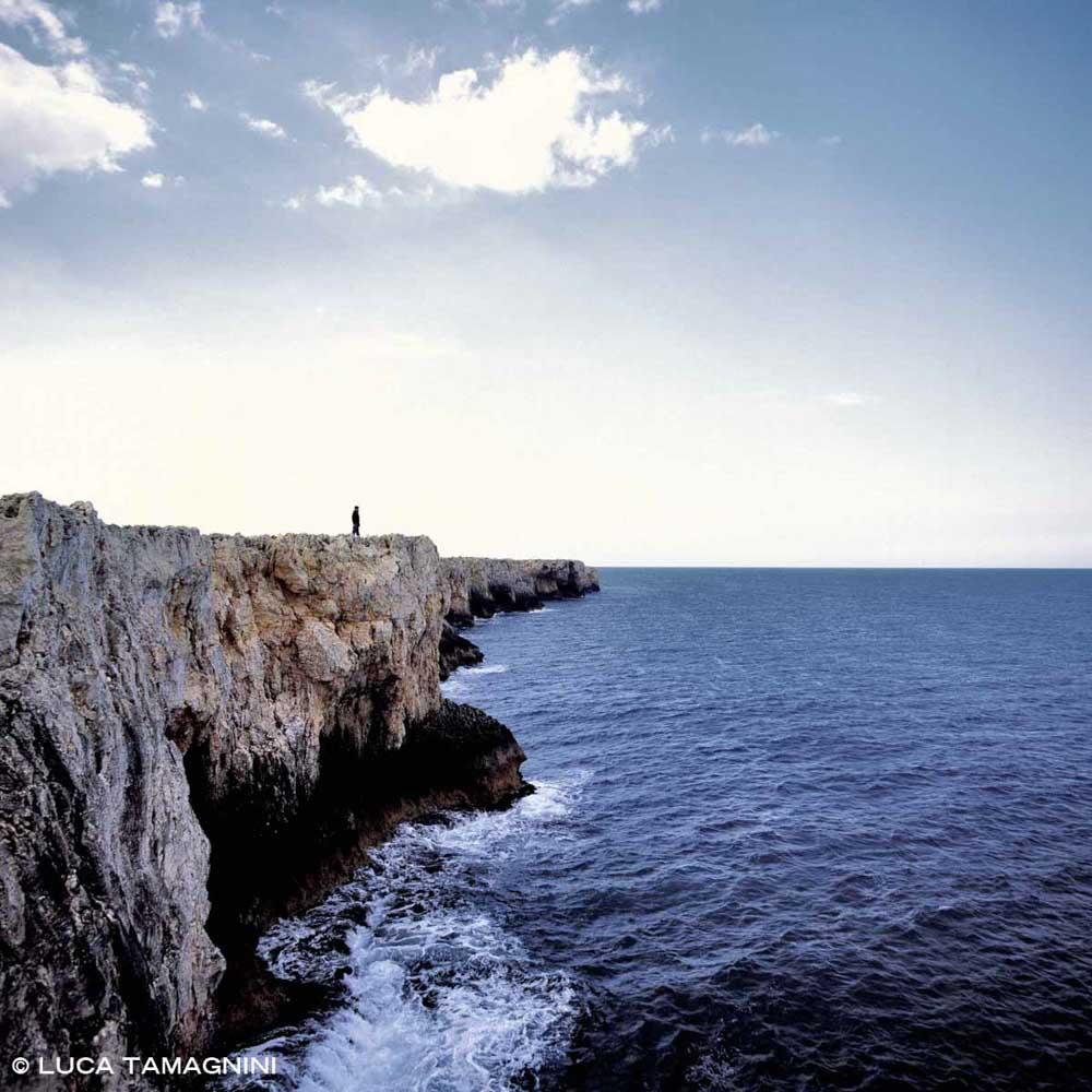 Siracusa, Plemmirio, Capo Murro di Porco - Fotografia Fine Art di Luca Tamagnini - Formato 100 x 100 cm - Catalogo 2007-007