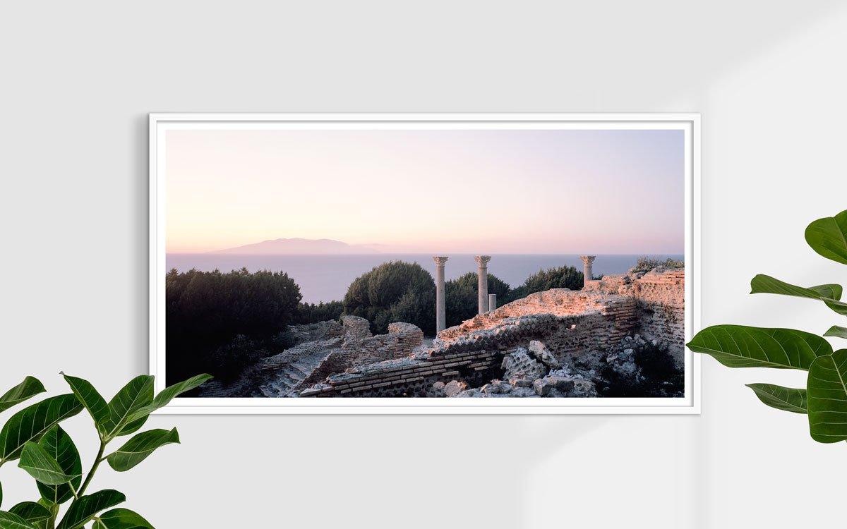Isola di Giannutri, Villa Romana - Fotografia Fine Art di Luca Tamagnini 150 x 80 cm - Catalogo 2015-003