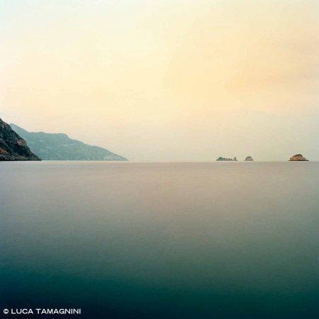 Penisola Sorrentina Isolotti di Vetara e Li Galli - Fotografia Fine Art di Luca Tamagnini 100 x 100 cm - Catalogo 2017-002