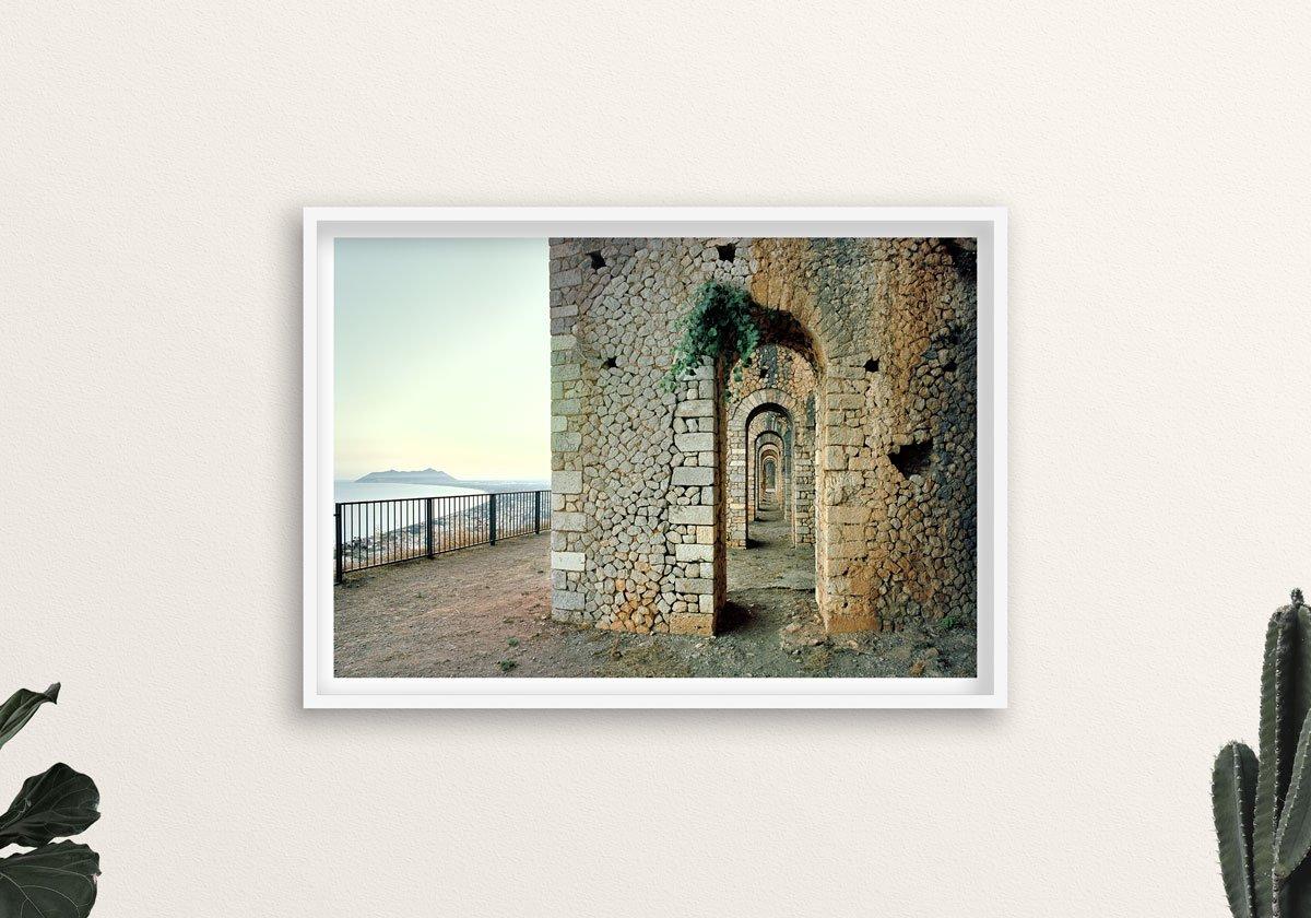 Terracina, Tempio di Giove Anxur - Fotografia Fine Art di Luca Tamagnini - Catalogo 2017-007 - 100 x 70 cm