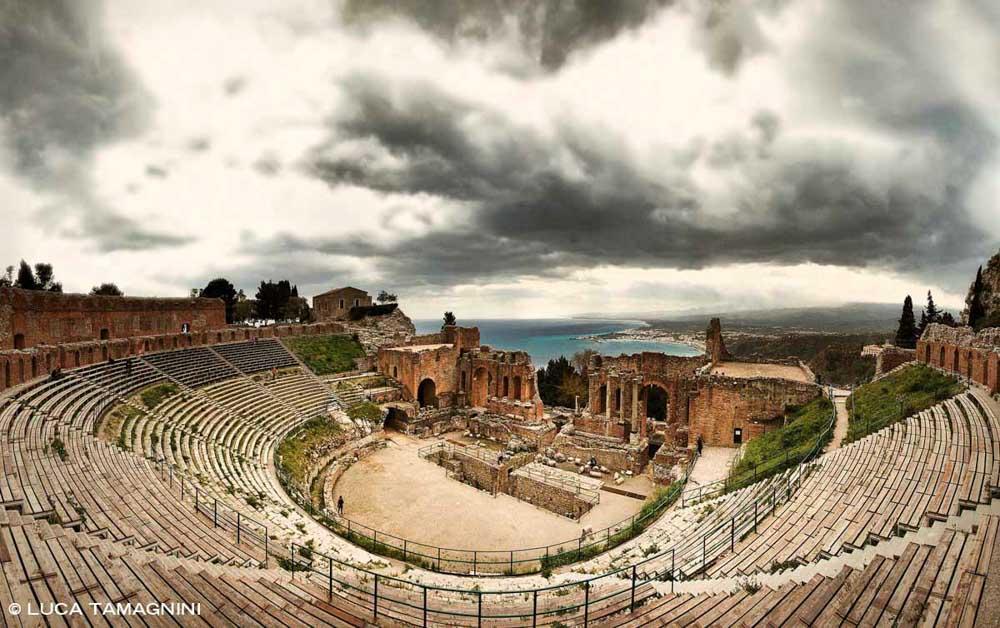Sicilia, Taormina, Teatro Antico - Foto Fine Art di Luca Tamagnini - Catalogo 2018-052 - 91 x 61 cm