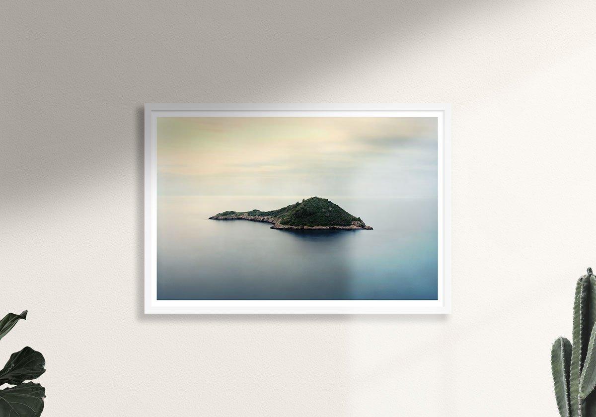 Porto Ercole Isolotto - Fotografia di Luca Tamagnini - Formato 91 x 61 cm - Catalogo 2018-095