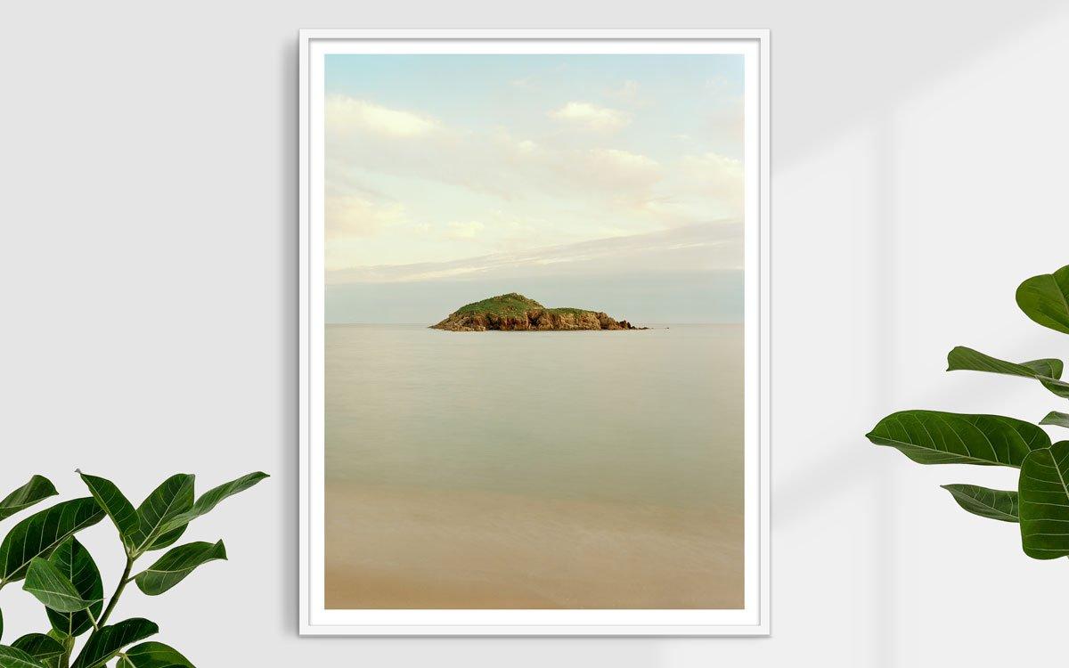 Sardegna, Chia, Isola Su Giudeu - Fotografia Fine Art di Luca Tamagnini - Formato 100 x 130 cm - Catalogo 2019-002