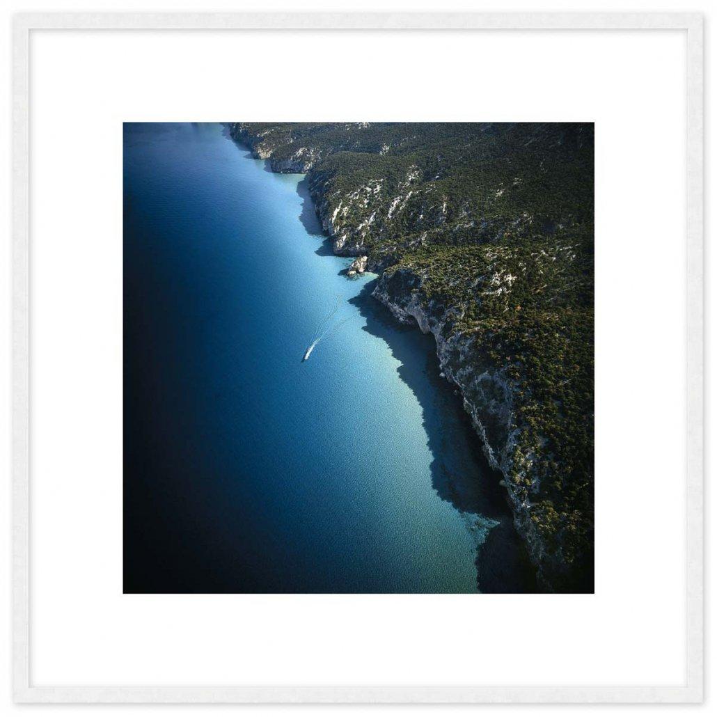 Golfo di Orosei 70x70cm (immagine 50x50cm) / Luca Tamagnini Catalogo 1993-001