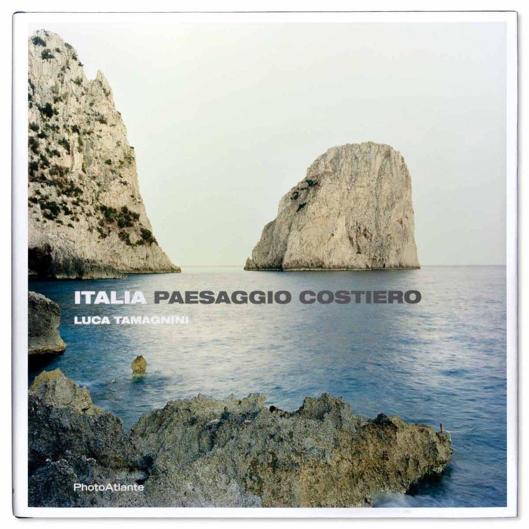 Copertina libro fotografico ITALIA PAESAGGIO COSTIERO Luca Tamagnini ed. Photoatlante